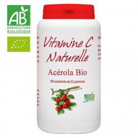 Acérola Bio 1000 et Vitamine C - 100 comprimés