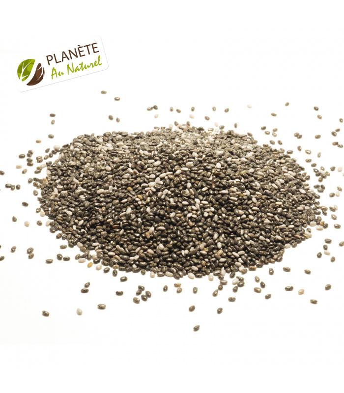 250 g de graines de chia d am rique latine - Graine de chia coupe faim ...