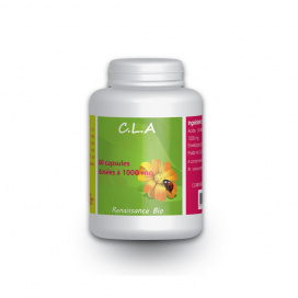 CLA Acide Linoléique conjuguée - 1000mg - 60 capsules