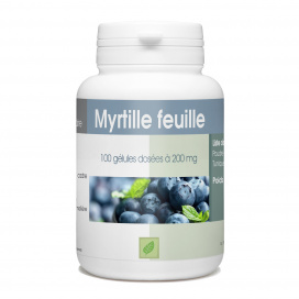 Myrtille Feuille - 100 gélules
