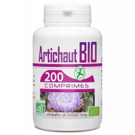 Artichaut bio - 200 comprimés