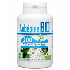 Aubépine Bio 400 mg - 200 Comprimés