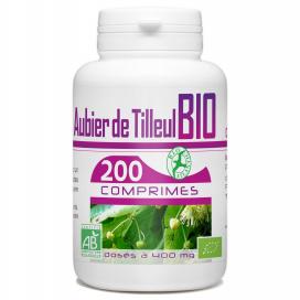 Aubier de Tilleul Bio - 200 comprimés