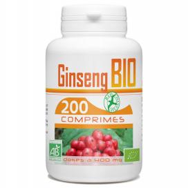 Ginseng Bio - 400 mg - 200 comprimés