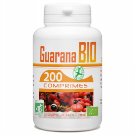 Guarana Bio - 400mg - 200 comprimés
