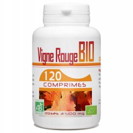 Vigne Rouge Bio - 400 mg - 120 comprimés