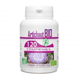 Artichaut bio - 120 comprimés à 400mg