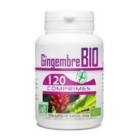 Gingembre Bio - 400 mg - 120 comprimés