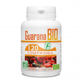 Guarana bio - 400 mg - 120 Comprimés