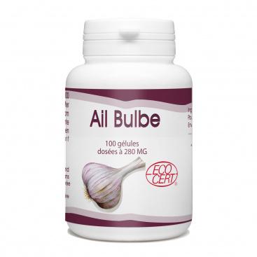 Ail Bulbe Bio - 280 mg - 100 gélules