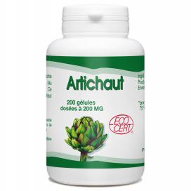 Artichaut Bio - 200 mg - 200 gélules