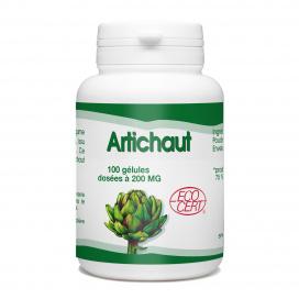 Artichaut Bio - 200 mg - 100 gélules