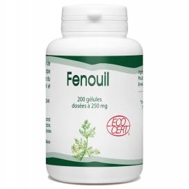 Fenouil Bio 250mg - 200 gélules