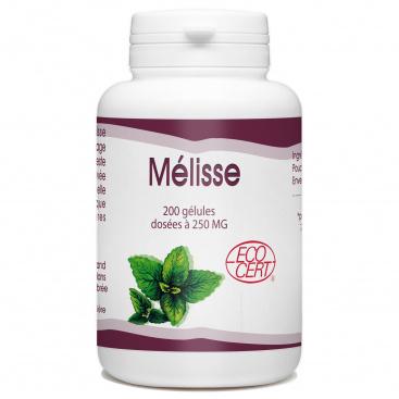 Mélisse Bio - 250mg - 200 gélules