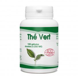 Thé Vert Ecocert - 250 mg - 100 gélules