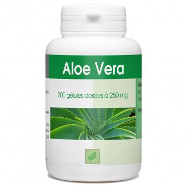 Aloé Vera 250 mg - 200 gélules
