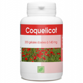 Coquelicot - 140 mg - 200 gélules