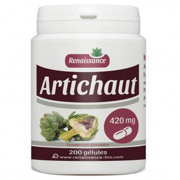 Artichaut - 420 mg - 200 gélules