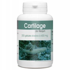 Cartilage de Requin - 400mg - 200 gélules