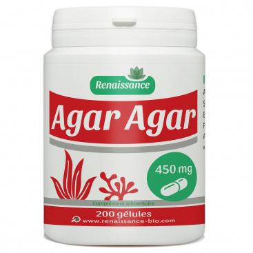 Agar Agar - 450mg - 200 gélules