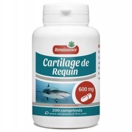 Cartilage de Requin - 600mg - 200 comprimés