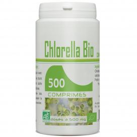 Chlorella Ecocert 500mg - 500 comprimés