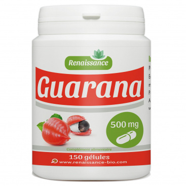 Guarana - 500mg - 150 gélules