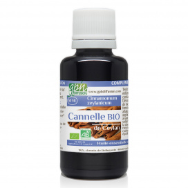 Huile Essentielle de Cannelle de Ceylan Bio - 30ml