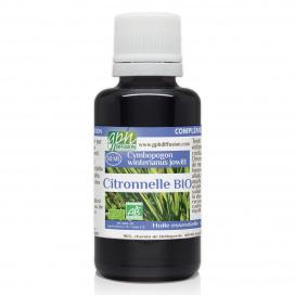 Citronnelle bio - 30 ml