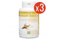 Ginseng Rouge - 300 mg - 200 Gélules X 3