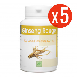 Ginseng Rouge - 300 mg- 500 gélules