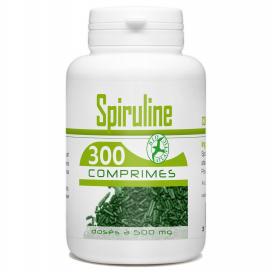Spiruline - 300 comprimés à 500 mg