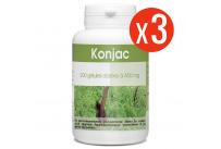 Konjac 3x200 gélules à 450 mg