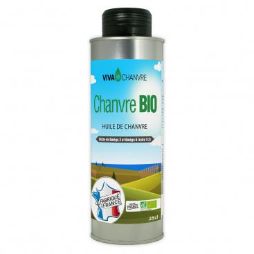Huile de Chanvre Bio 250ml