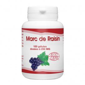 Marc de Raisin Bio - 250 mg -100 gélules