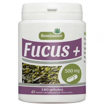 Fucus + 500mg - 180 gélules