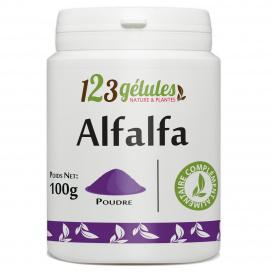 Alfalfa - 100 gr de poudre