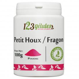 Fragon (petit houx) - 100 g de poudre