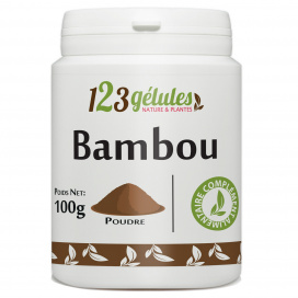 Bambou Tabashir - poudre 100g