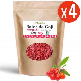 Goji (Ningxia) GreenFood - 4 sachets de 500 gr