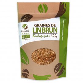 Graines de Lin Brun Bio 500g
