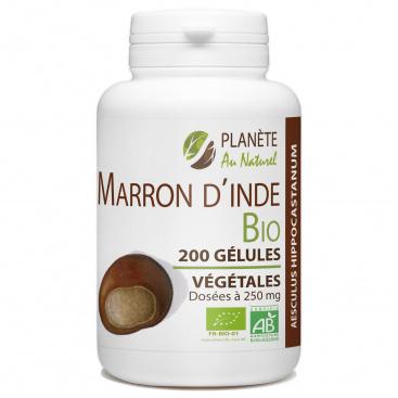 Marron d'Inde Bio 250 mg - 200 gélules végétales