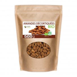 Amandes Décortiquées Bio 500g