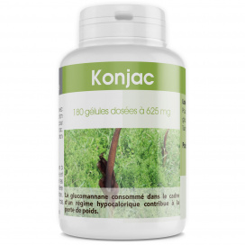 Konjac - 625 mg - 180 gélules