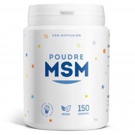MSM en poudre - 150 grammes