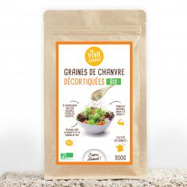 Graines de Chanvre Bio Décortiquées - 500g