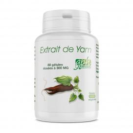 Extrait de Yam - 80 gélules végétales