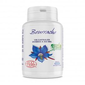 Bourrache Ecocert - 503 mg - 100 capsules marines