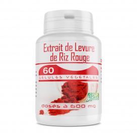Levure de Riz Rouge 1,6% - 60 gélules