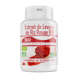 Extrait de Levure de Riz Rouge Bio 1,6% - 90 gélules